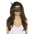 Оригинальная маскарадная маска Black and Gold Lace Mask