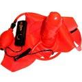 Красный страпон-вибратор BLIMPY INFLATABLE STRAP-ON PENIS