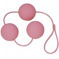 Вагинальные шарики Velvet Pink Balls