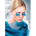 Накладные ресницы Light Blue Feather Eyelashes