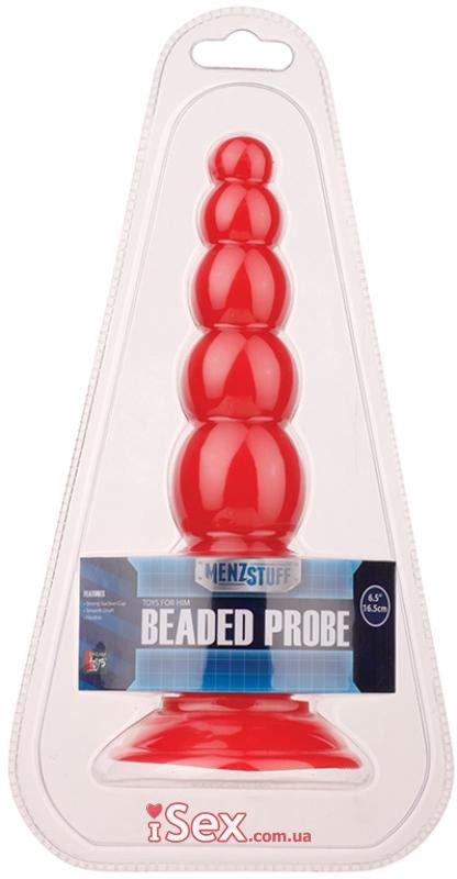 Анальная пробка Menzstuff Beaded Probe (DT20713)